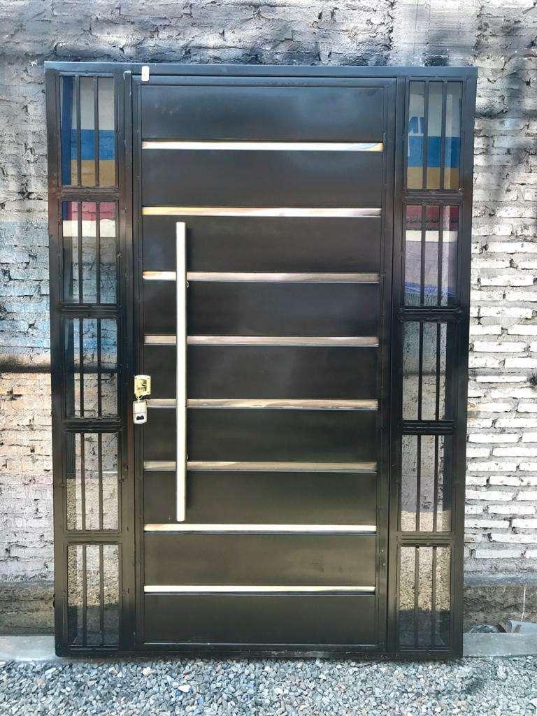 Puertas metálicas para el hogar - 4