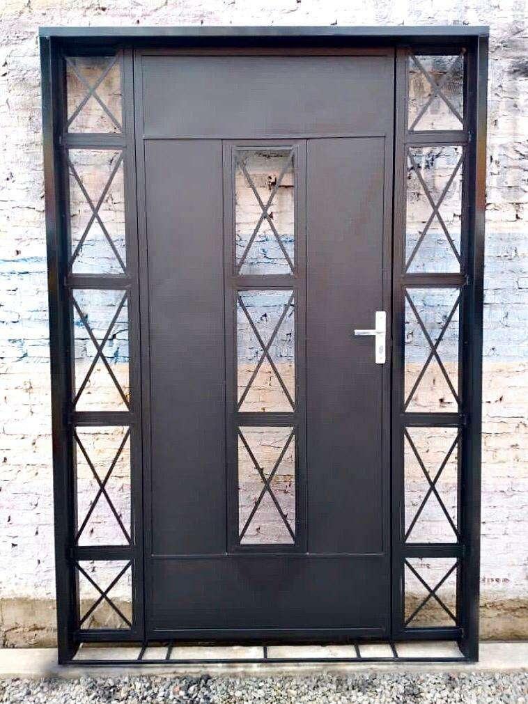 Puertas metálicas para el hogar - 5