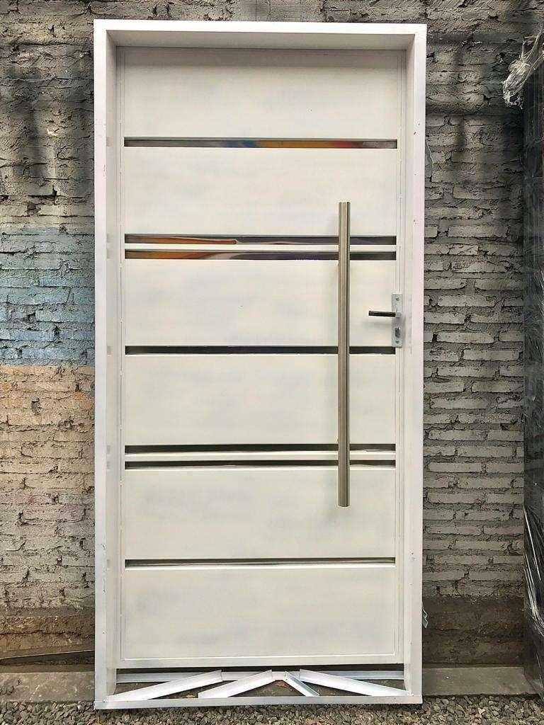 Puertas metálicas para el hogar - 6