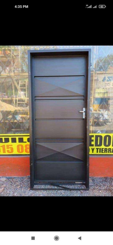 Puertas metálicas para el hogar - 8