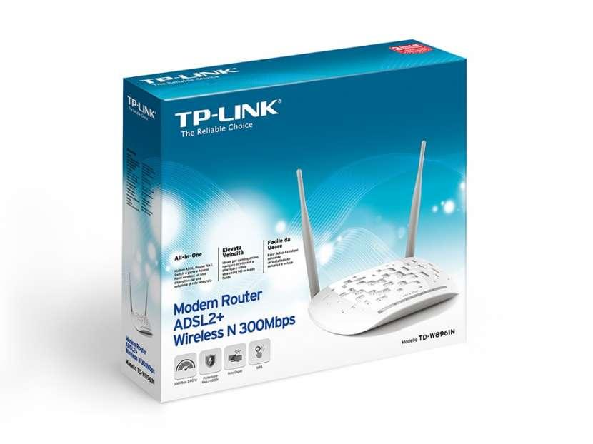 Router ADSL2+TP-Link TD-W8961N - 0