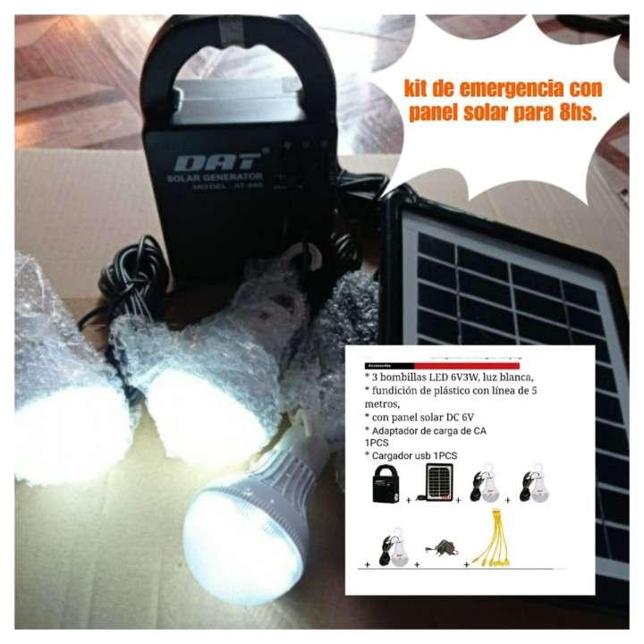 Kit de emergencia solar para camping caza y pesca - 0