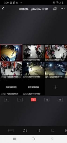 Instalación de circuito cerrado 8 cámaras HD 720P