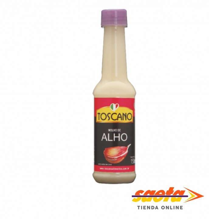 Molho de Ajo Toscano 150 ml - 0