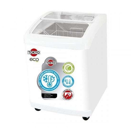 Congelador para helado Tokyo 220 lts - 0