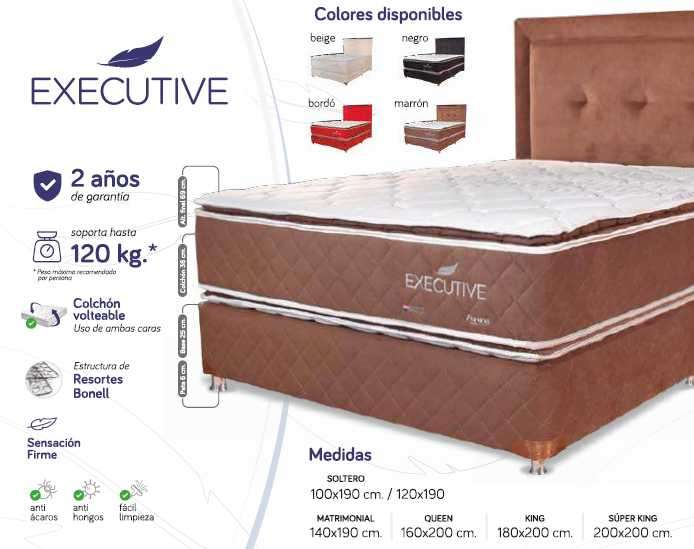Sommier Executive 140x190 - 0