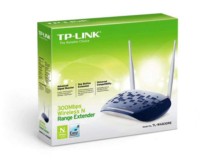 Router access point TP-Link TL-WA830RE-300MBPS/2 antenas - 2