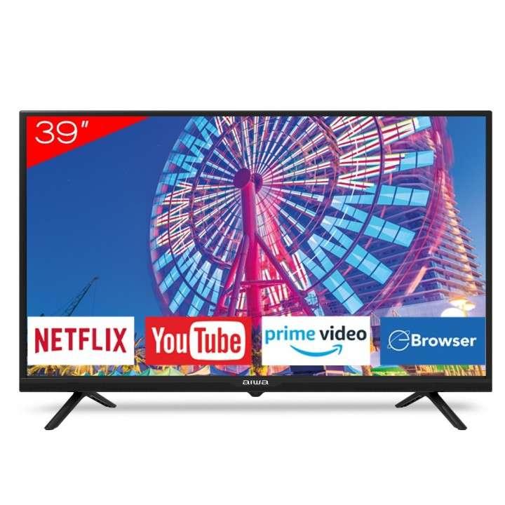 Smart TV LED Aiwa de 39 pulgadas - 0