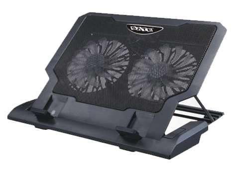 Cooler para notebook doble ventilador - 0