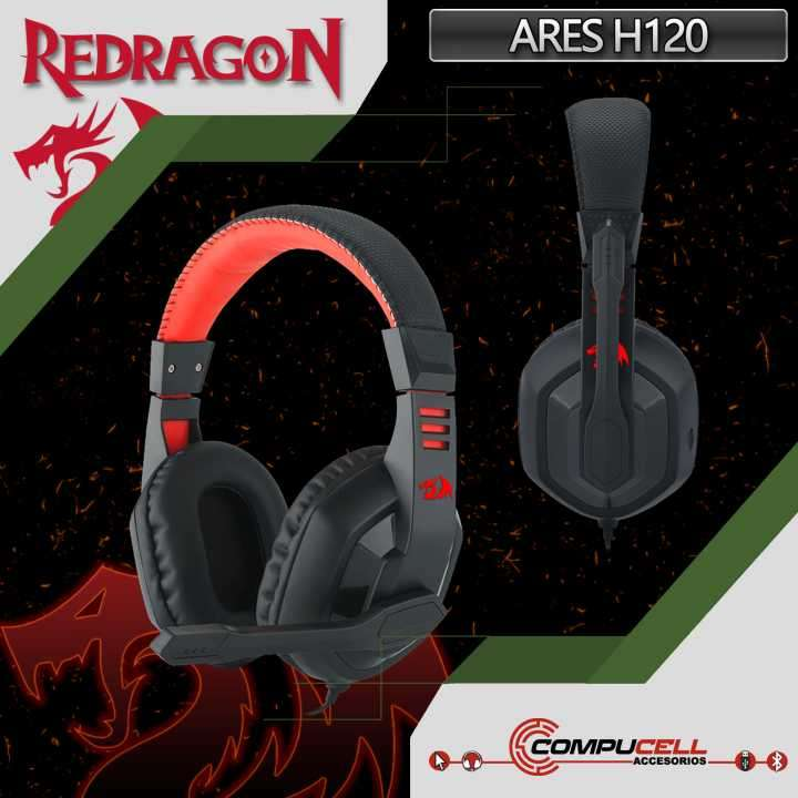 Auriculares Gamer Redragon Ares H120 - 0