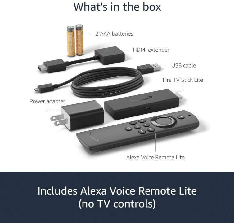 Fire TV Stick Lite 2020 - 3