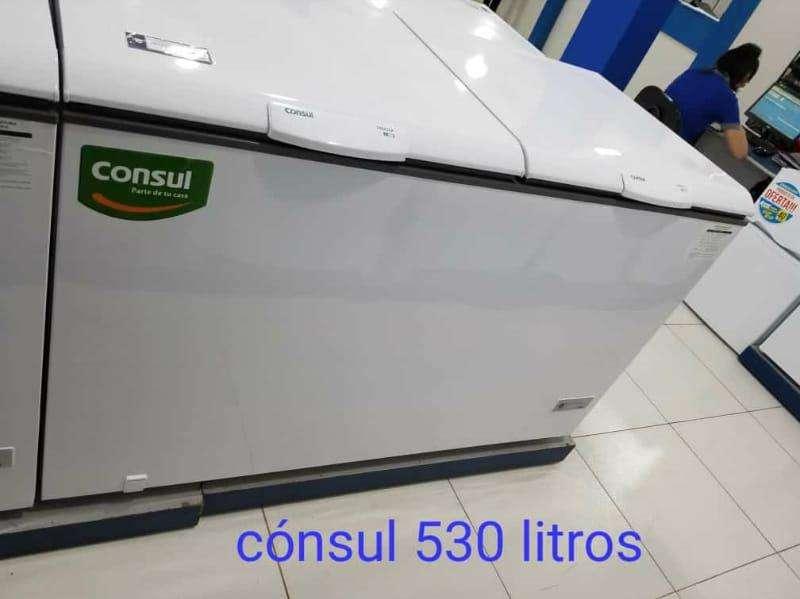 Congelador horizontal Consul 530 litros - 0