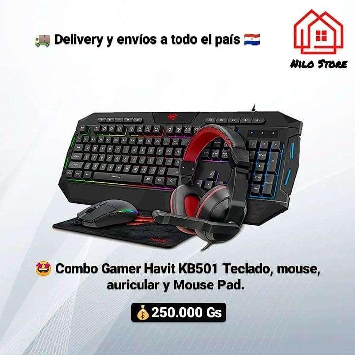 Combo gamer Havit KB501 - 0