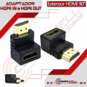 Extensores HDMI 90°
