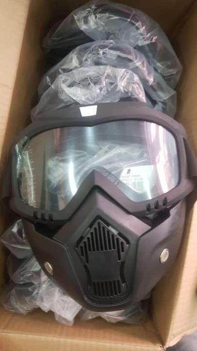 Máscara para motocicleta - 0