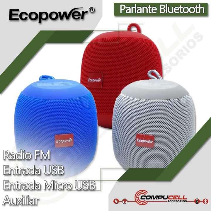 Parlante bluetooth Ecopower - 0