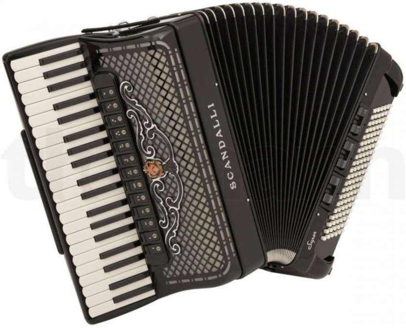 Acordeón piano Scandalli modelo Super-VI 120 bajos - 0