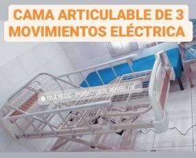 Cama para pacientes eléctrica y manual