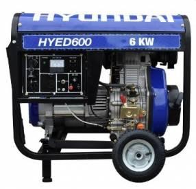 Generador Hyundai a diésel 6KVA