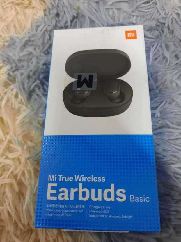 Mi True Wireless Earbuds Basic negro - 0