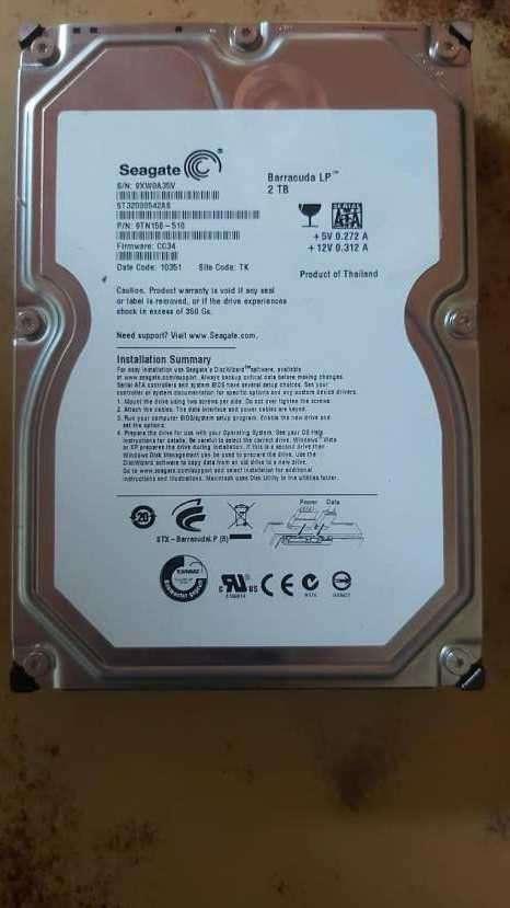 Disco duro Seagate 2 TB - 1