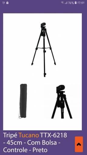 Trípode para celular y cámara con control