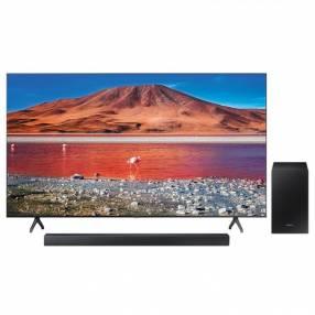 TV LED Samsung 70 pulgadas 4K Ultra HD/Digital/Wifi + Sound Bar HW-R