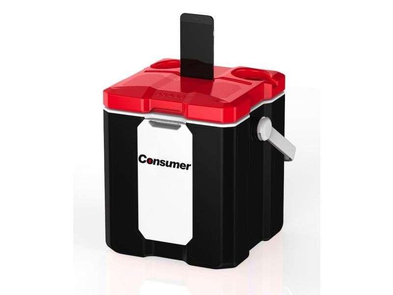 Cooler box smart con parlante bluetooth - 0