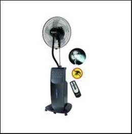 Ventilador de pie Consumer a batería 16 pulgadas