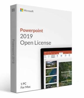 Microsoft PowerPoint 2019 para Mac