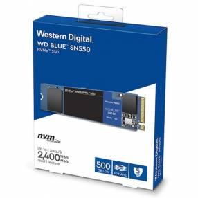 SSD Western Digital Blue M.2 500GB SN550 Nvme Pcie24