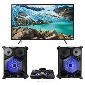 TV LED Samsung 75 pulgadas Digital/UHD 4K/HDMI + Mini System