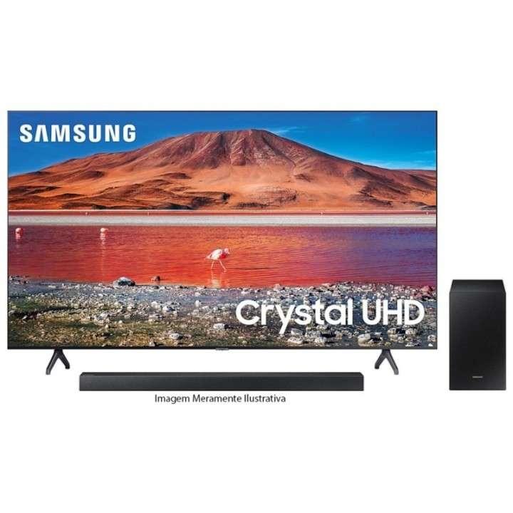 TV LED Samsung 65 pulgadas 4K Ultra HD/Digital/Wifi + Sound Bar - 0