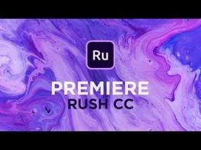 Adobe Premiere Rush para Mac