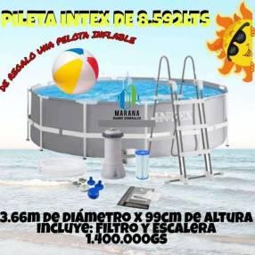 Piletas Intex de 8.592 litros + Pelota Inflable