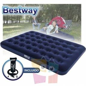 Colchón Inflable 1,91 x 1,37 x 0,22 mts Bestway Aeroluxe Airbed 2 plazas