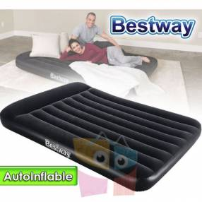 Colchón Autoinflable 2,03 x 1,52 x 0,30 mts Bestway Airbed Queen