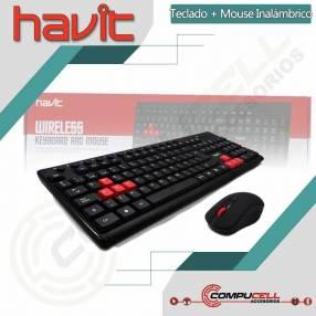 Teclado y mouse Havit HV-KB257GCM