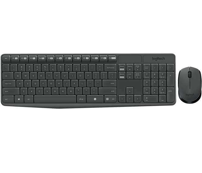 Teclado y mouse inalámbrico Logitech MK-235 - 3