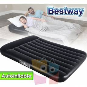 Colchón Autoinflable 1,91 x 1,37 x 0,30 mts Bestway Airbed Full 2 plazas