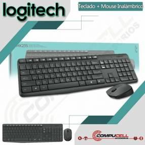 Teclado y mouse inalámbrico Logitech MK-235