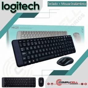 Teclado y mouse inalámbrico Logitech MK-220