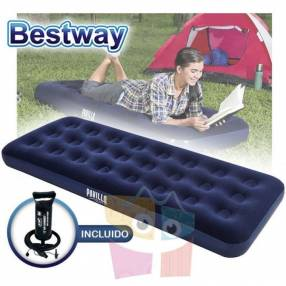 Colchón Inflable 1,85 x 0,76 x 0,22 mts Bestway Aeroluxe Airbed Jr. Twin