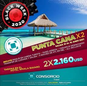 Punta Cana 2X1