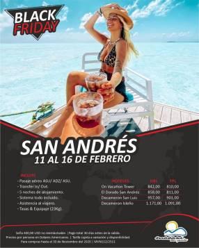 Tour febrero en San Andrés