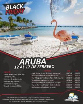 Febrero en Aruba