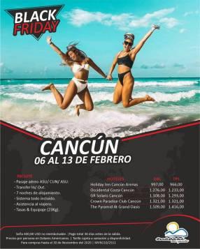 Febrero en Cancún
