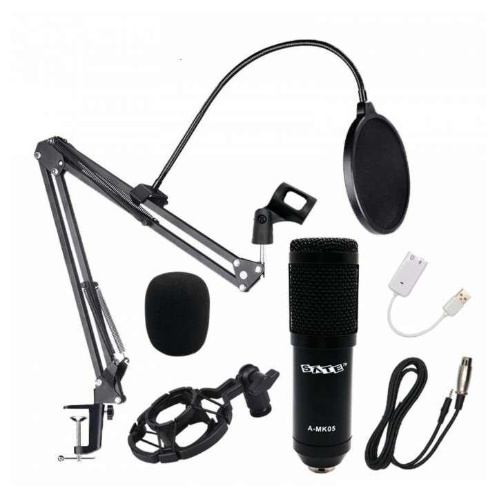 Micrófono p/ estudio condensador Sate A-MK105 - 2