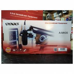 Micrófono p/ estudio condensador Sate A-MK105