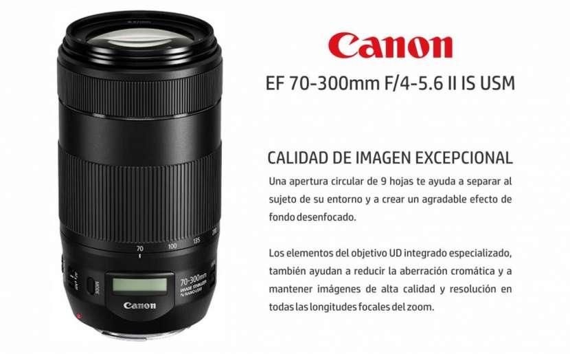 Lente Canon 70-300mm F/4-5.6 II IS USM - 0